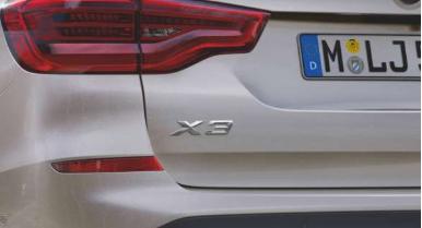 Plug-in-Hybrid-Antrieb - BMW X3 xDrive30e